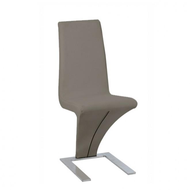 Chaise design taupe le monde de l a for Chaise tendance 2018