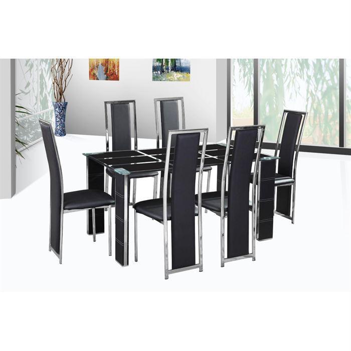 chaise et table design le monde de l a. Black Bedroom Furniture Sets. Home Design Ideas