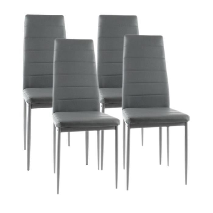 Chaises modernes salle manger le monde de l a for Chaise de salle a manger originale