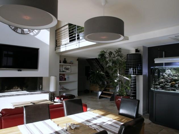 suspension contemporaine salle manger le monde de l a. Black Bedroom Furniture Sets. Home Design Ideas