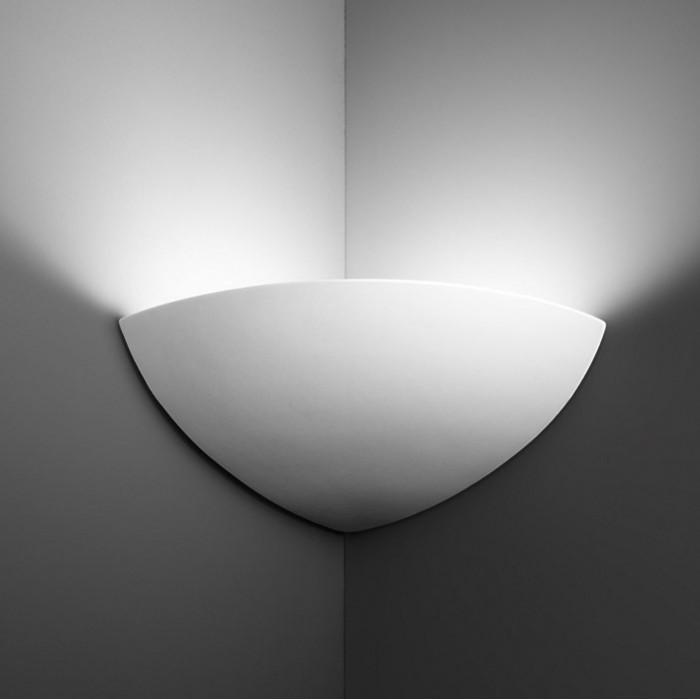 Appliques d angle luminaires le monde de l a - Applique murale d angle ...