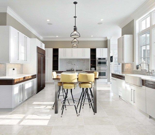 luminaire de cuisine moderne le monde de l a. Black Bedroom Furniture Sets. Home Design Ideas
