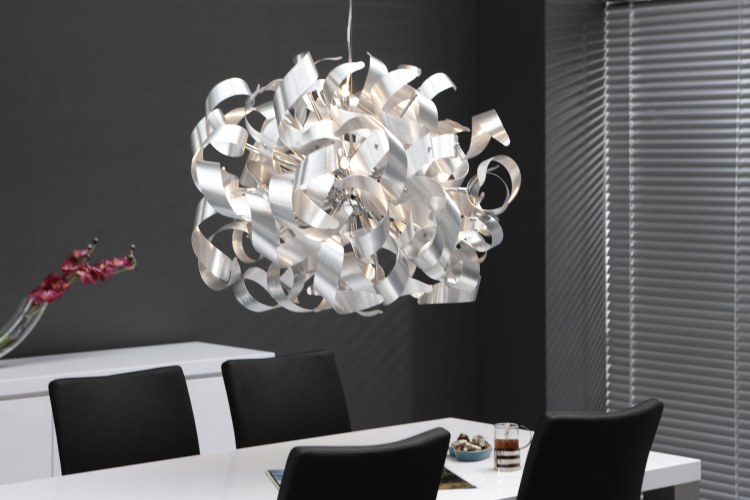 Lustre moderne design le monde de l a for Lustre suspendu design