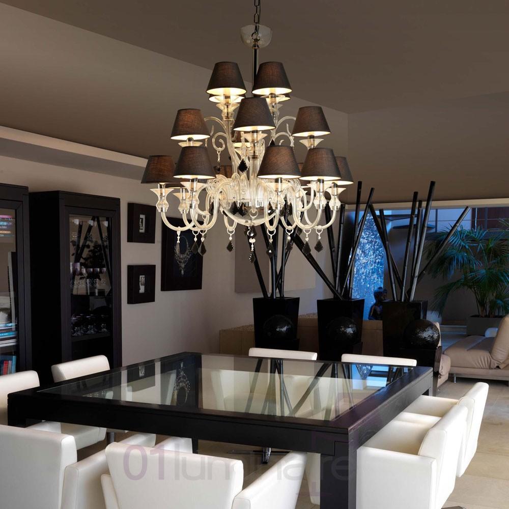 Lustre salon design le monde de l a for Lustre contemporain salon
