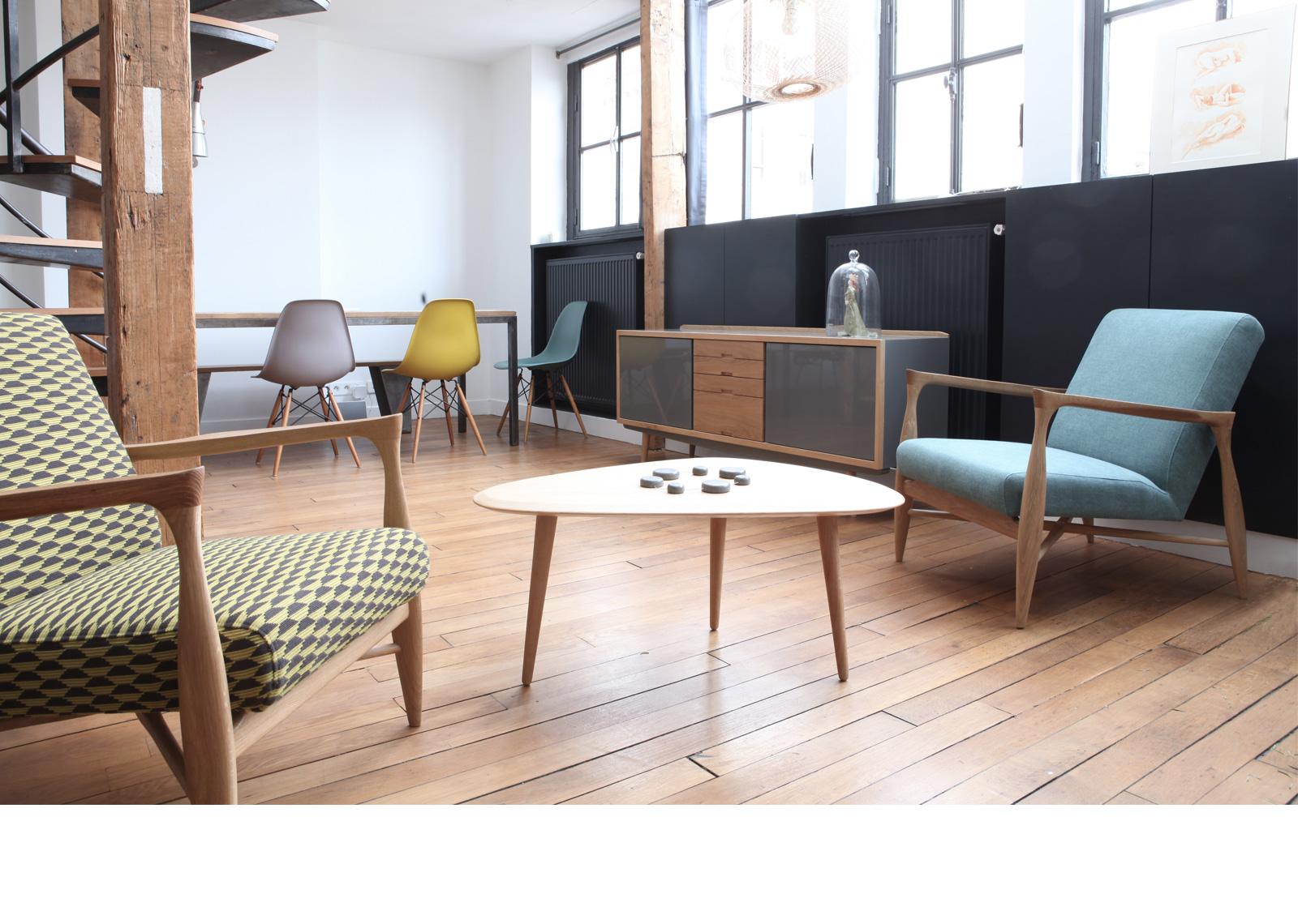 meuble bois design scandinave le monde de l a. Black Bedroom Furniture Sets. Home Design Ideas