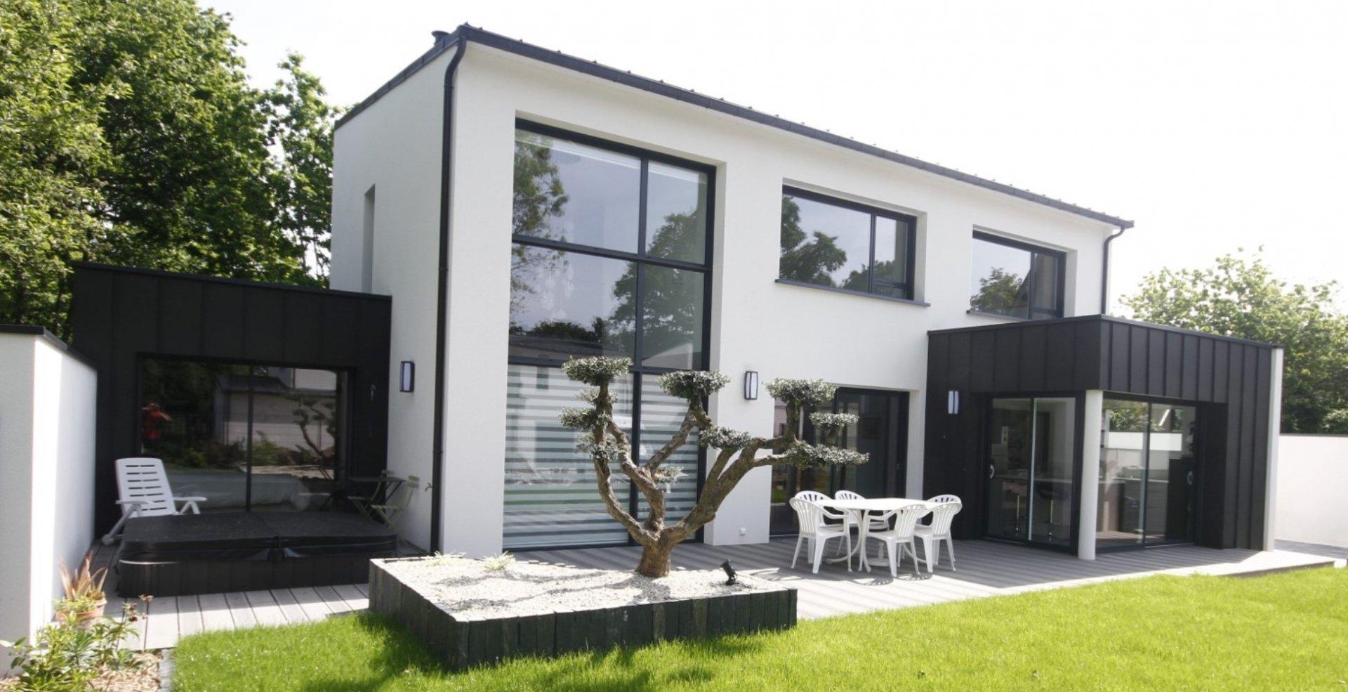 Prix construction maison moderne le monde de l a for Prix moyen construction maison