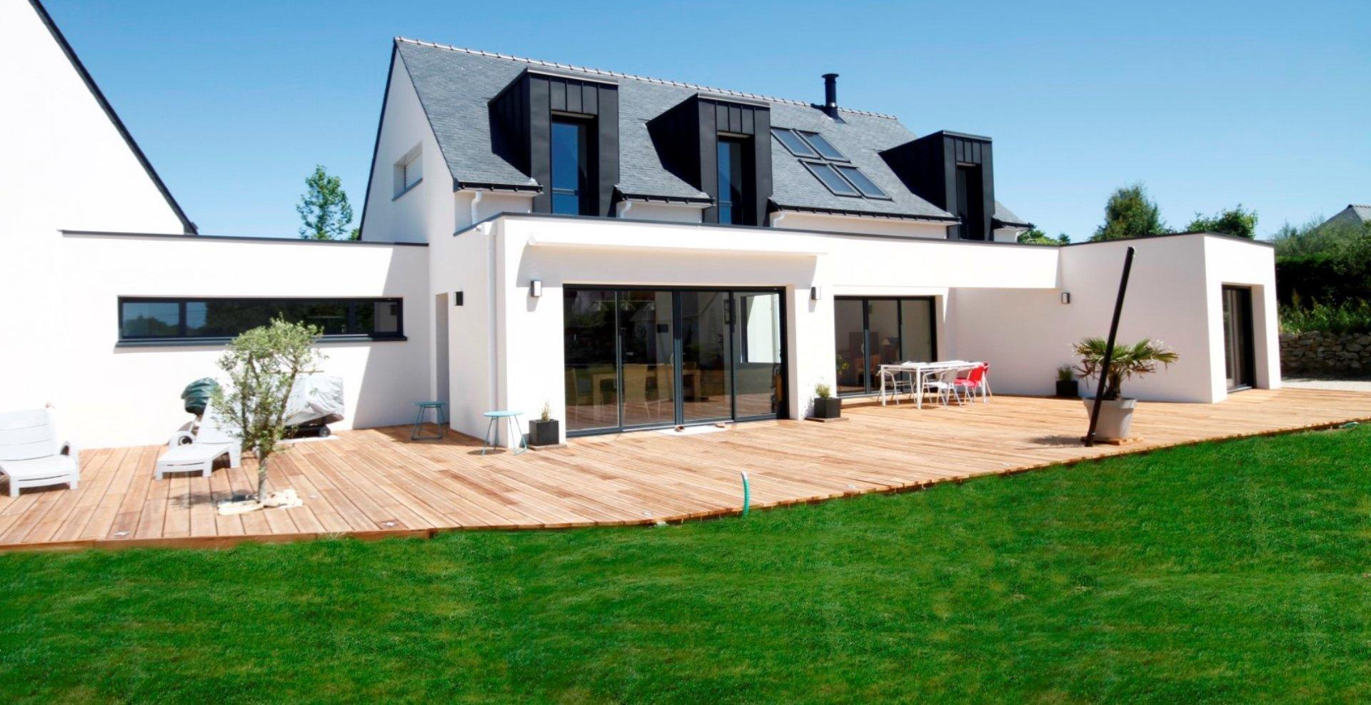 cout construction maison moderne le monde de l a