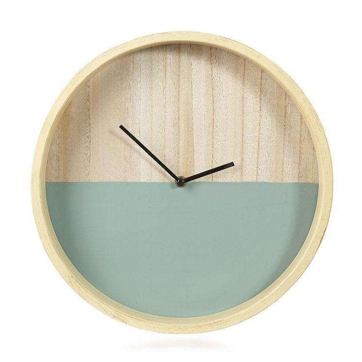 horloge scandinave le monde de l a. Black Bedroom Furniture Sets. Home Design Ideas