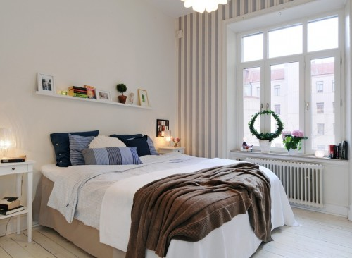 chambre style norv gien le monde de l a. Black Bedroom Furniture Sets. Home Design Ideas