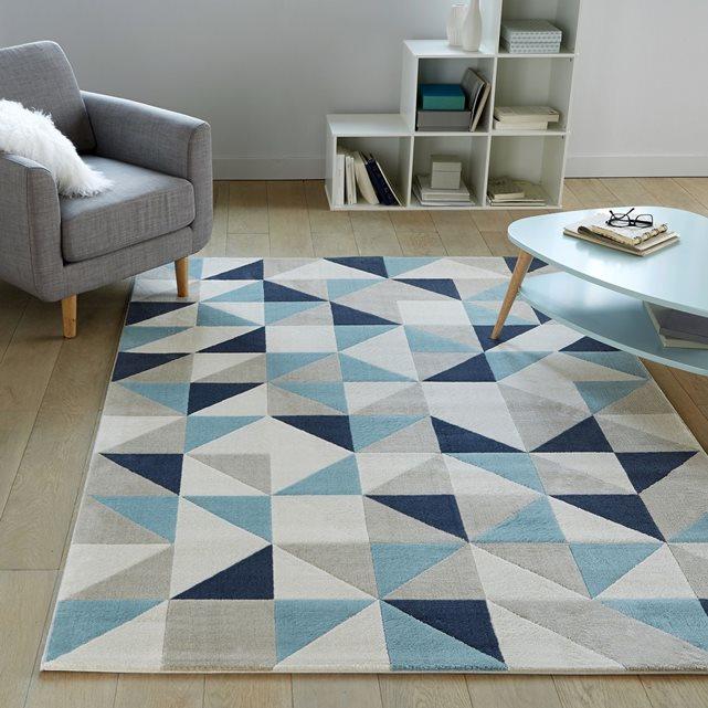 coussin scandinave bleu le monde de l a. Black Bedroom Furniture Sets. Home Design Ideas