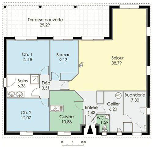 Plan constructeur maison familiale segu maison for Constructeur maison familiale