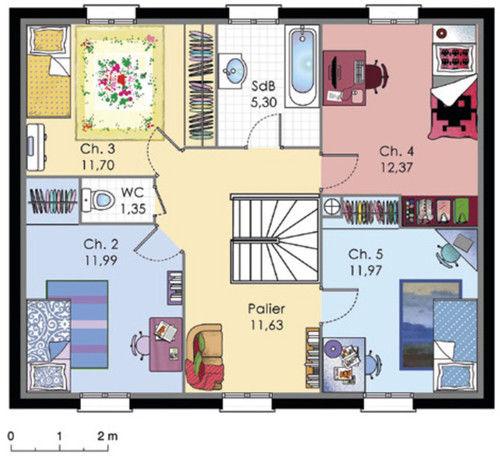 Home Design 3d 2 Etage: Le Monde De Léa