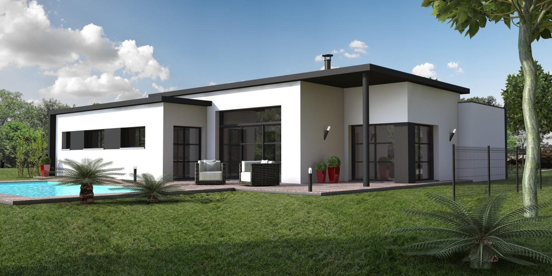 Maison Basse Moderne