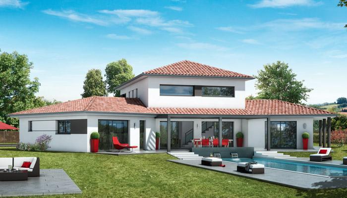 Modele maison design le monde de l a for Modele architecture maison