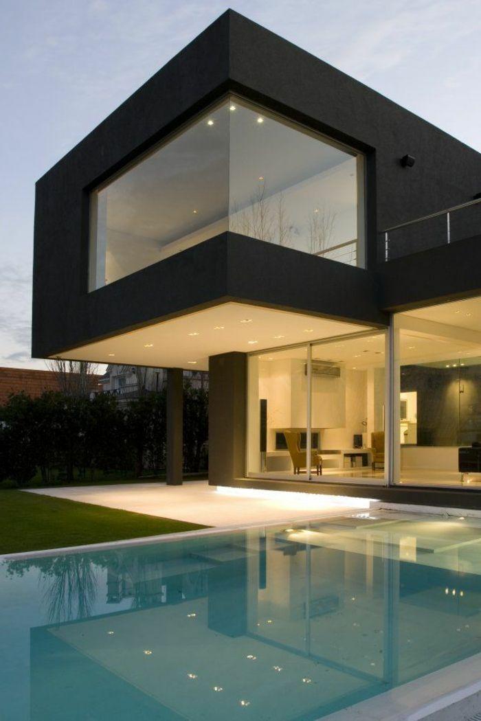 architecture contemporaine maison le monde de l a. Black Bedroom Furniture Sets. Home Design Ideas
