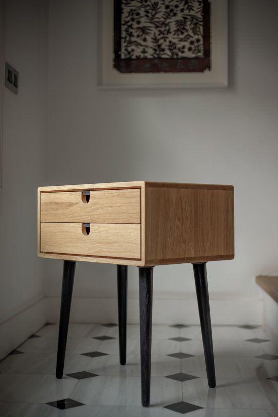 table de chevet scandinave le monde de l a. Black Bedroom Furniture Sets. Home Design Ideas