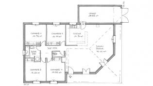 plan de maison individuelle moderne - Exemple Plan Maison Moderne