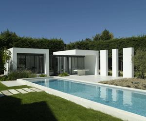 Maison moderne carré - Le monde de Léa