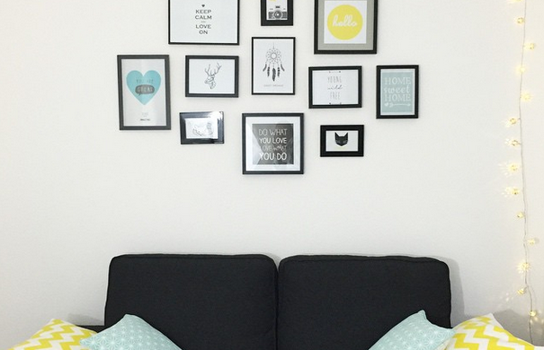 cadre scandinave le monde de l a. Black Bedroom Furniture Sets. Home Design Ideas