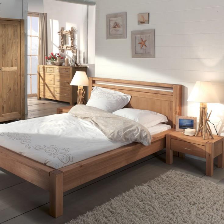 chambre coucher style scandinave le monde de l a. Black Bedroom Furniture Sets. Home Design Ideas