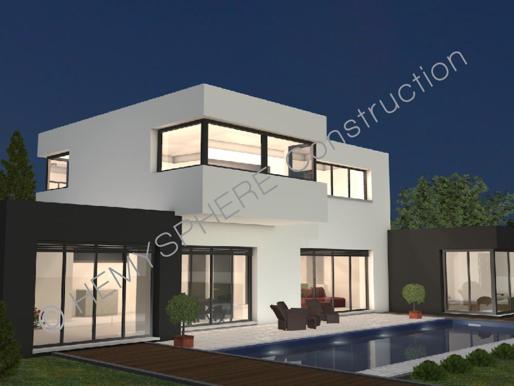 maison style moderne - Maison A Construire Moderne