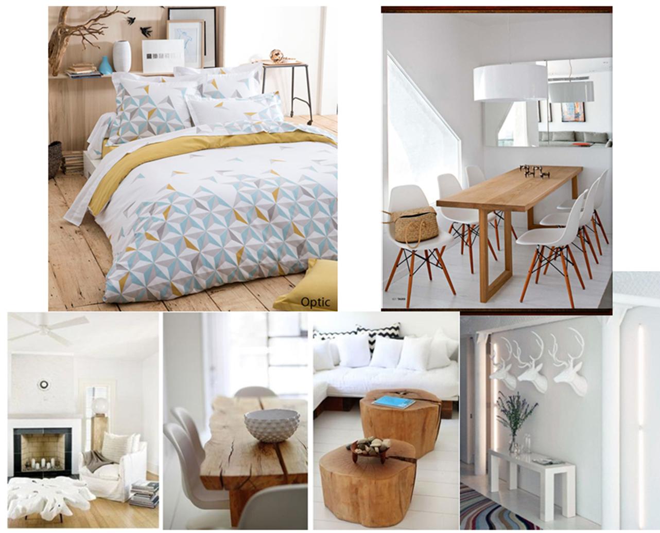 Deco chambre style nordique le monde de l a for Chambre style scandinave