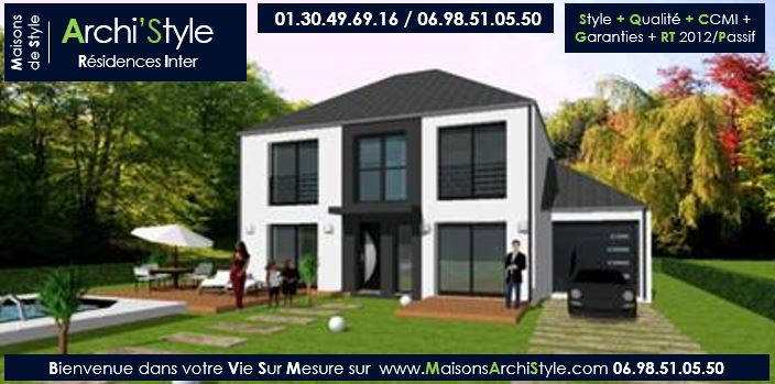 maison r 1 contemporaine le monde de l a. Black Bedroom Furniture Sets. Home Design Ideas