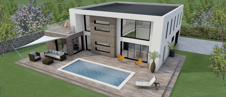 Tarif construction maison contemporaine le monde de l a for Construction maison contemporaine tarif