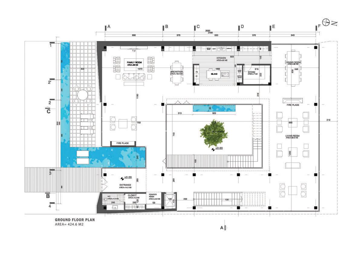 Plan Architecture Moderne Le Monde De L A