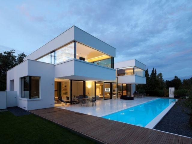 Maison en cube moderne - Le monde de Léa