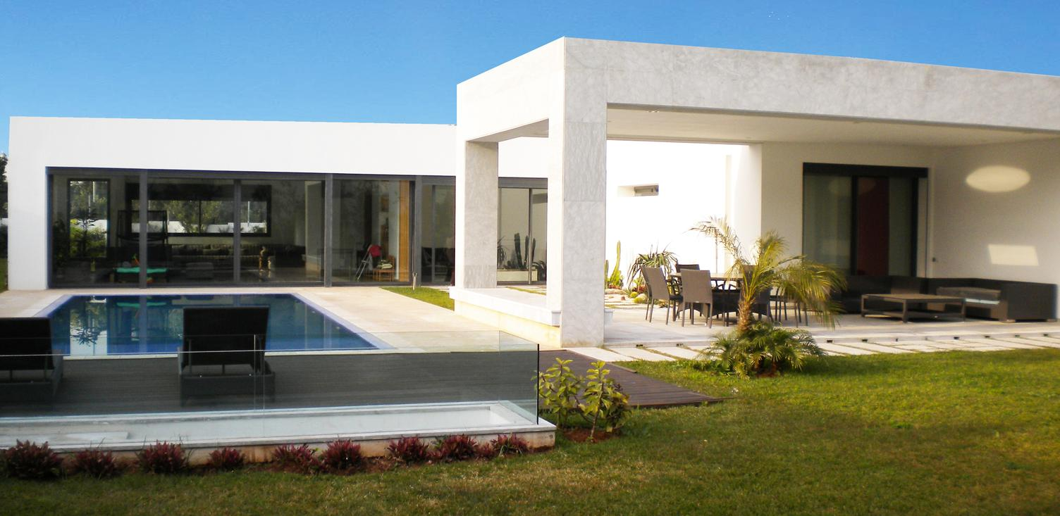 Awesome villa architecte moderne photos transformatori - Villa d architecte moderne ...