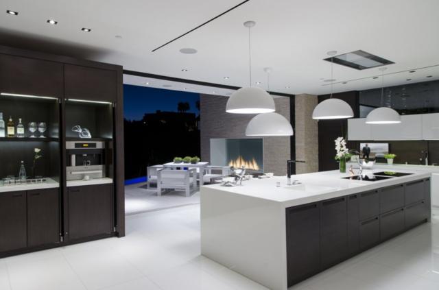 Maison moderne cuisine - Le monde de Léa
