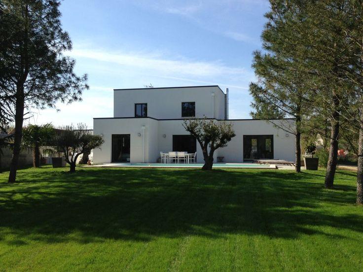 Maison Toit Plat Moderne maison toit plat - le monde de léa
