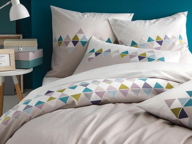 linge de lit style scandinave le monde de l a. Black Bedroom Furniture Sets. Home Design Ideas
