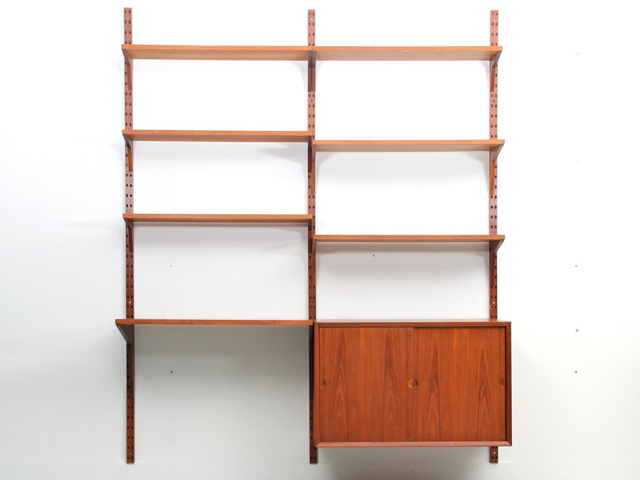 biblioth que scandinave vintage le monde de l a. Black Bedroom Furniture Sets. Home Design Ideas