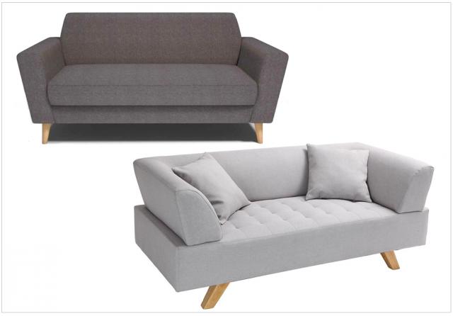 canape design solde le monde de l a. Black Bedroom Furniture Sets. Home Design Ideas