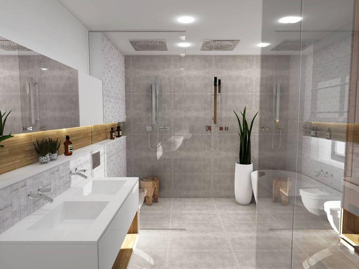 Salle de bain style scandinave - Le monde de Léa