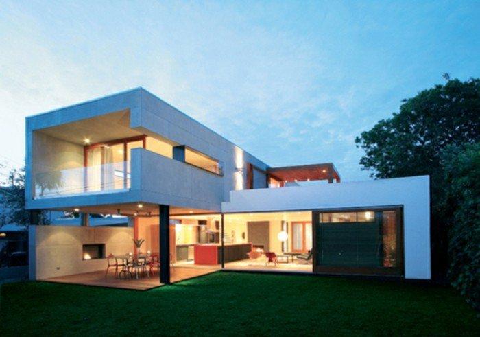 Plan maison toit plat gratuit le monde de l a - Plan maison cubique toit plat ...