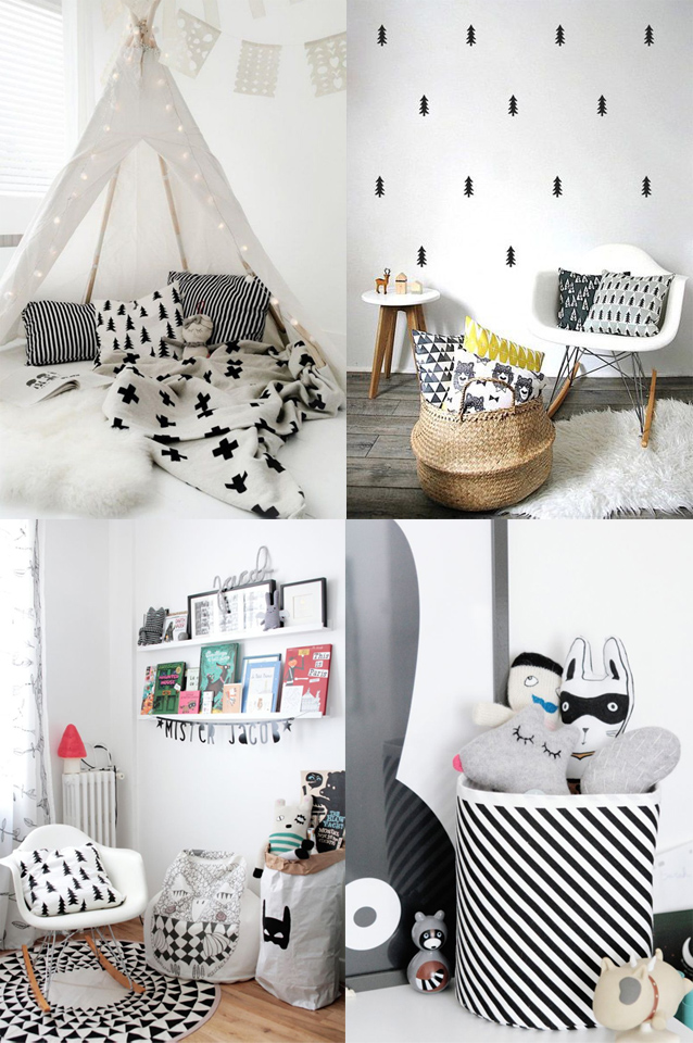 chambre bebe design scandinave le monde de l a. Black Bedroom Furniture Sets. Home Design Ideas