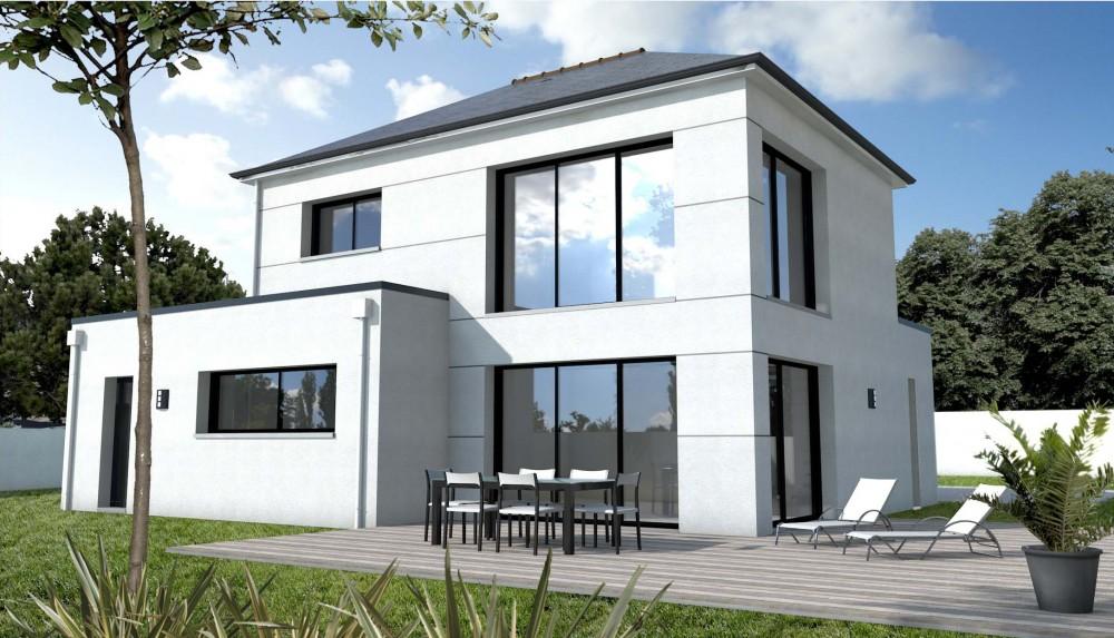 devis construction maison individuelle le monde de l a. Black Bedroom Furniture Sets. Home Design Ideas