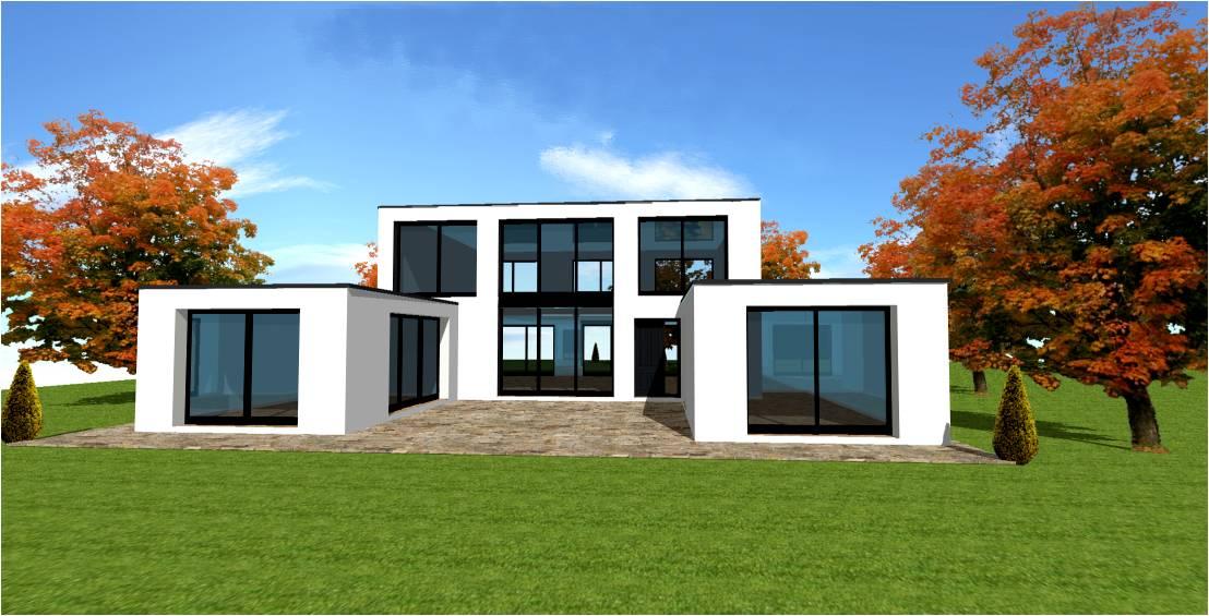 Constructeur de maison moderne - Le monde de Léa