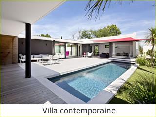Constructeur maison contemporaine le monde de l a for Constructeur villa contemporaine