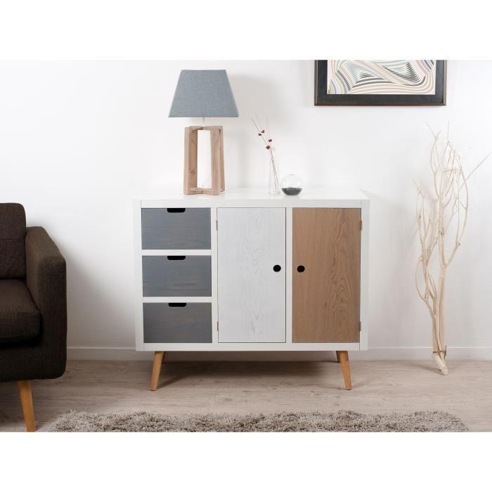 meuble style scandinave pas cher le monde de l a. Black Bedroom Furniture Sets. Home Design Ideas