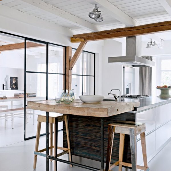 cuisine esprit scandinave le monde de l a. Black Bedroom Furniture Sets. Home Design Ideas
