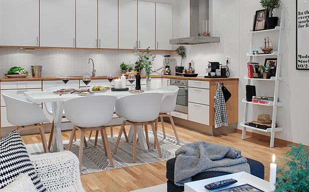 Salon Style Scandinave Moderne