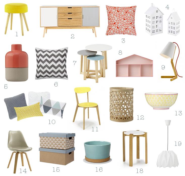 style scandinave pas cher le monde de l a. Black Bedroom Furniture Sets. Home Design Ideas