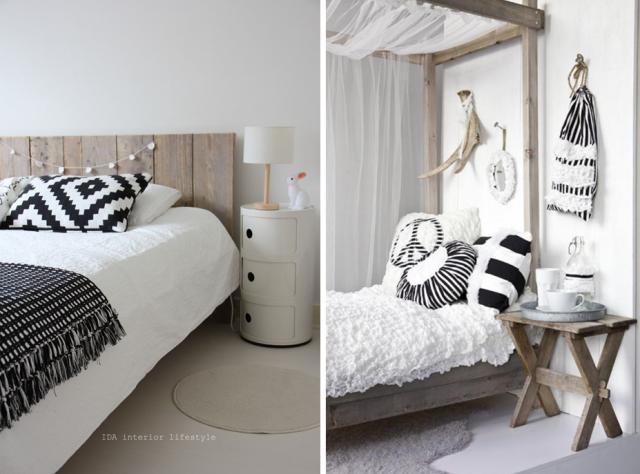 Chambre style scandinave le monde de l a for Chambre a coucher style