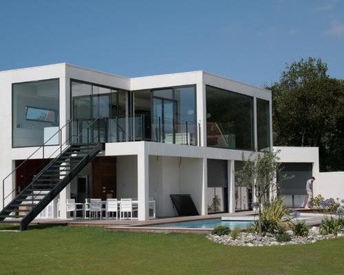 Le monde de l a je vous partage tout - Modele facade maison moderne ...