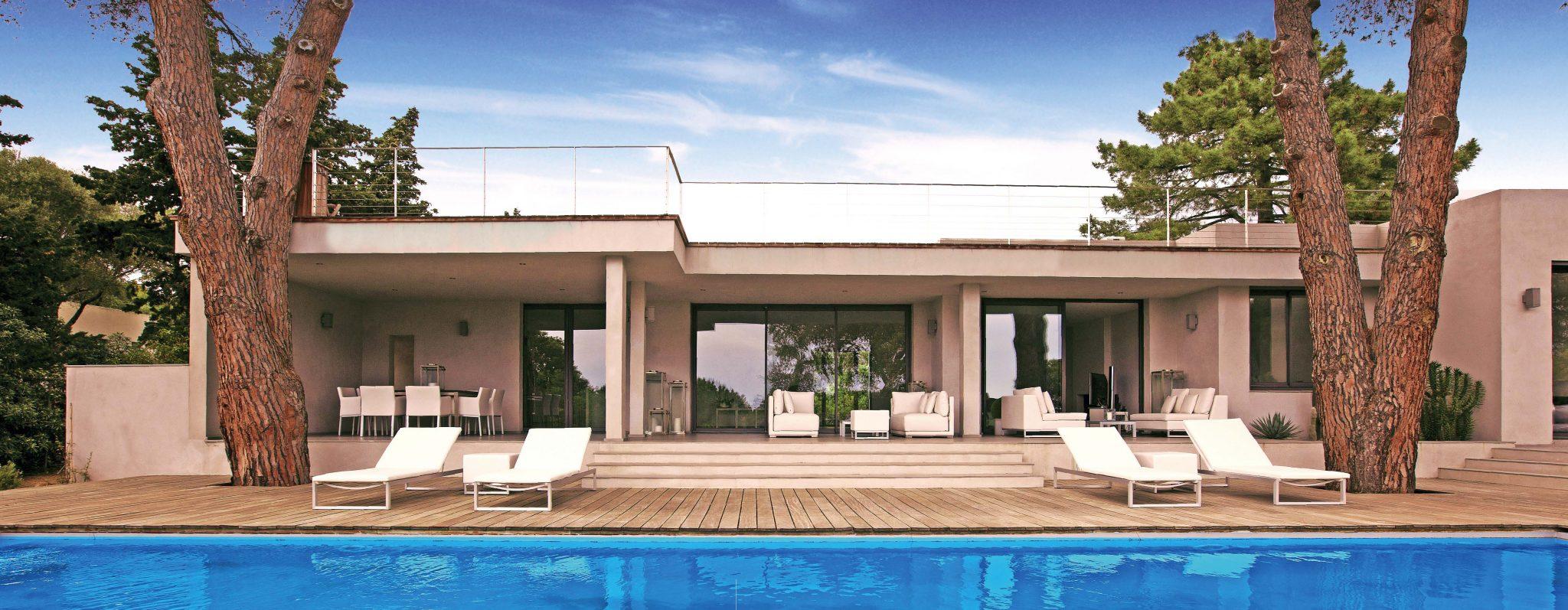 Maison plain pied architecte contemporain - Le monde de Léa