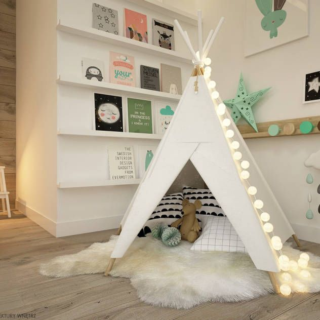 Chambre fille scandinave le monde de l a for Coole kinderzimmer